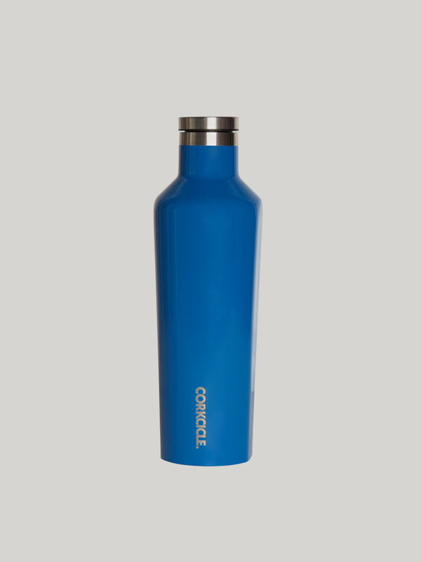 CORKCICLE GLOSS RIVIERA BLUE 16OZ CANTEEN