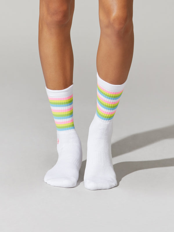 BARRY'S PRIDE WHITE SOCK