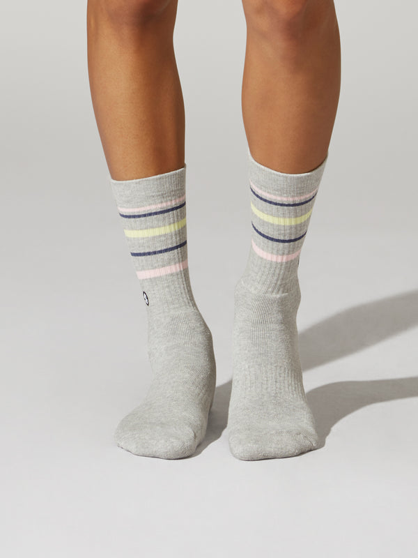 BARRY'S PRIDE HEATHER GREY SOCK