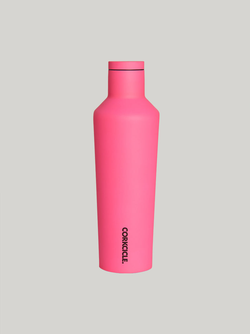 CORKCICLE X BARRY'S 16 OZ CANTEEN NEON PINK