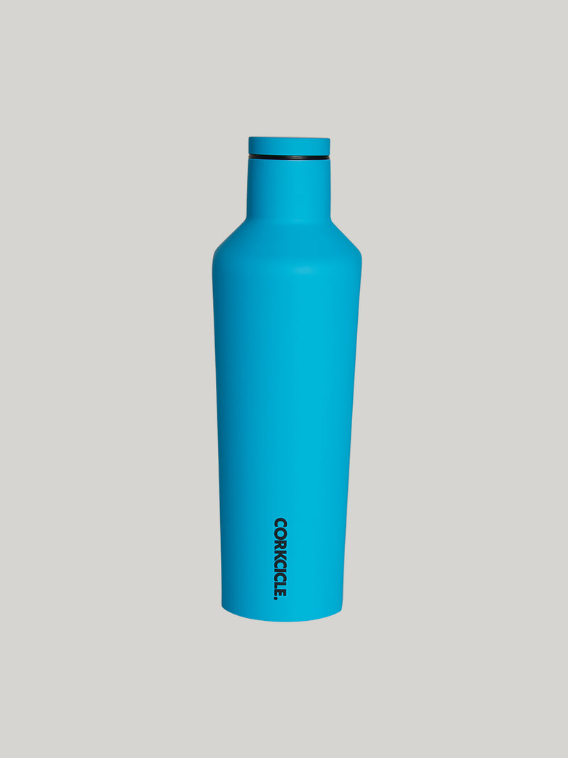 CORKCICLE X BARRY'S 16 OZ CANTEEN NEON BLUE