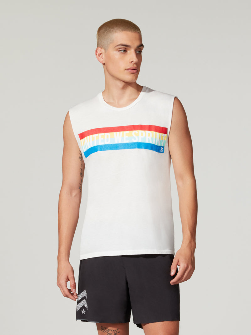 BARRY'S PRIDE GYM TANK