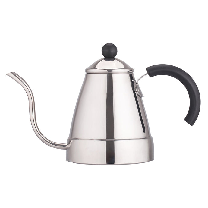 Stainless Steel Tea & Drip Coffee Gooseneck Pour Over Kettle | 47 oz (1400 ml)