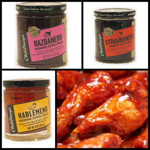Award Winning Razbanero Wing Sauce Recipe |  Fruit Based Wings | Best Game Day Snacks