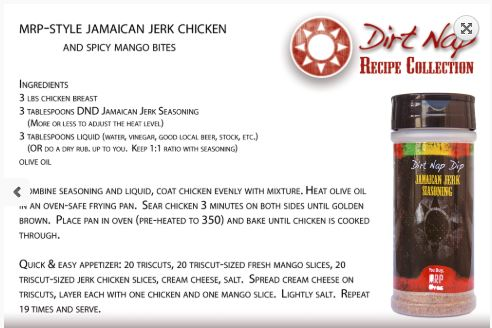 Jamaican Jerk Chicken & A Little History Behind The Spice