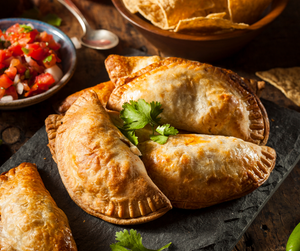 Homemade Tropical Chicken Empanadas | Sweet Appetizer or Entree | Spice Isle Recipes