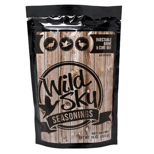 Wild Sky Seasoning Injection Brine Mix | Add Flavor To Your Holiday Meal | Turkey, Geese, Duck, Chicken