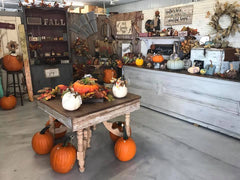 The Country Pumpkin Store Interior