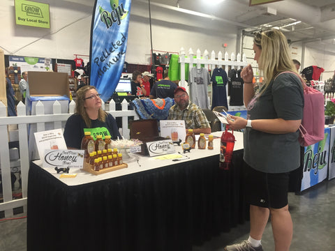 Gold Dust Honey Farms and Kettle Corn Sampling at the Nebraska State Fair