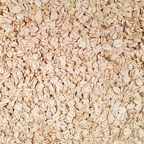 Grain Place Foods Non-GMO Organic Rolled Oats 25lb Bag