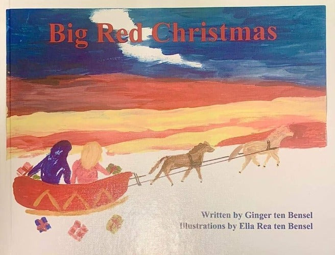 Big Red Christmas | Children's Book | Original Illustrations