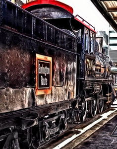"""106 Lincoln Train"" Print 