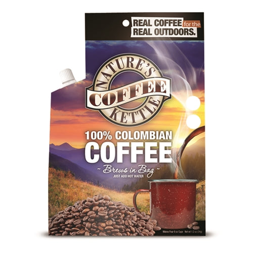Nature's Coffee Kettle 100% Colombian Coffee Kettle
