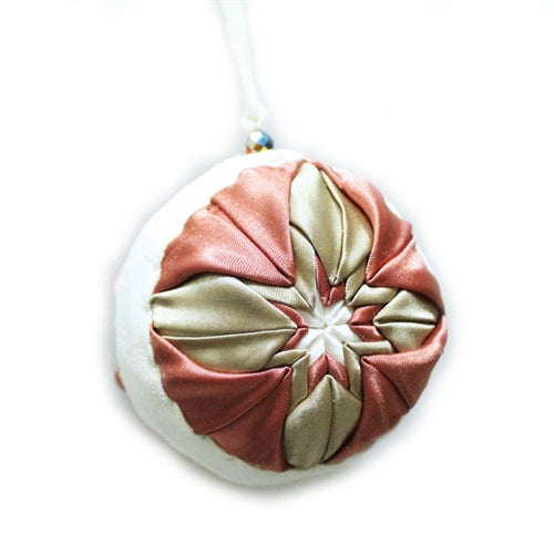 Lakota Crafters Champagne Fandango Ornament by Faith Whitedress