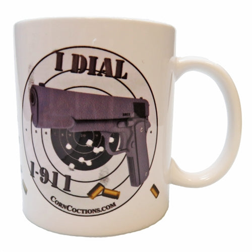 CornCoctions 1-911 Gun Coffee Mug