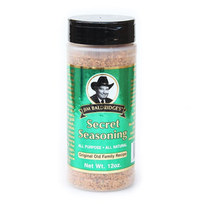 Jim Baldridge's Natural 12 oz. Secret Seasoning