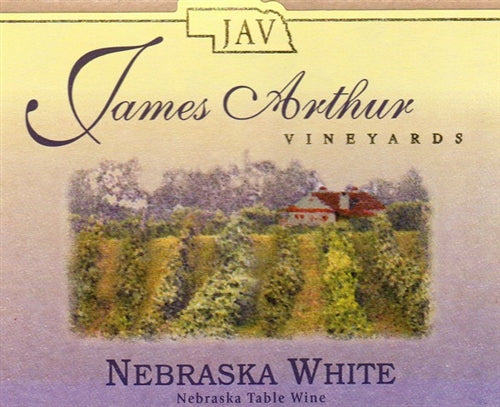 James Arthur Vineyard Nebraska Heartland White Wine