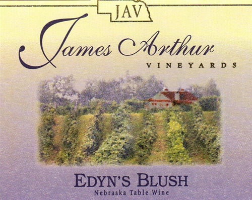 James Arthur Vineyard Nebraska Edyn۪s Blush Wine