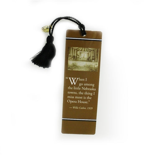 Willa Cather Foundation Opera House Bookmark