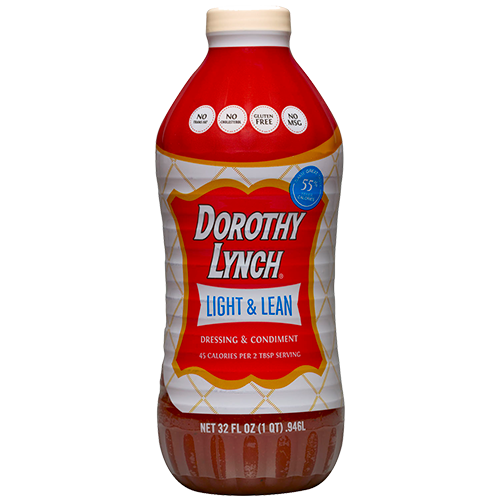 Dorothy Lynch Light and Lean Salad Dressing 32oz | Gluten Free | Sweet & Spicy Dressing | Shipping Included Options