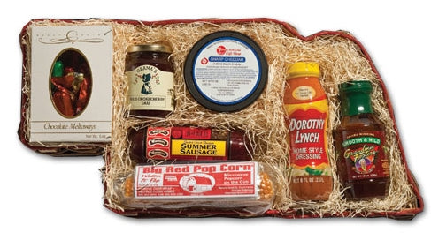 From Nebraska Gift Shop's The Nebraskan Gift Basket