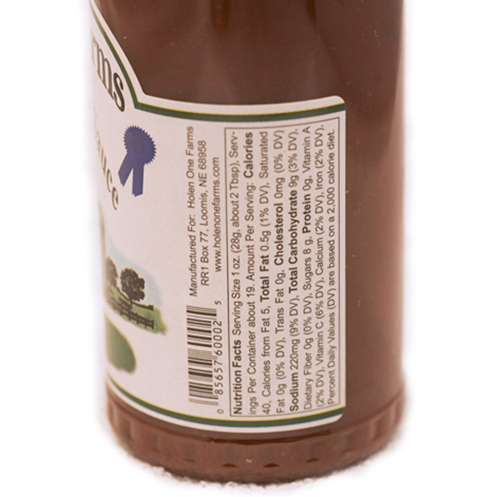 Holen One Farms Barbecue Dipping & Glazing Sauce