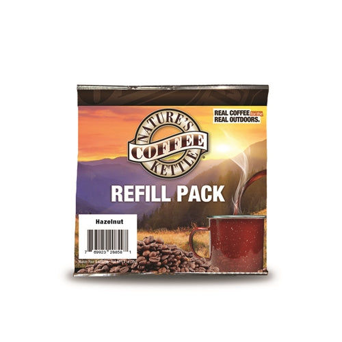 Nature's Coffee Kettle Hazelnut Refill Pack -- Case of 24