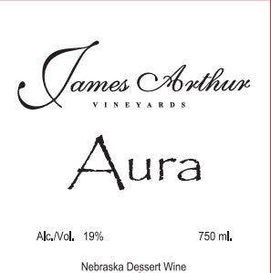 James Arthur Vineyard Nebraska Aura Wine