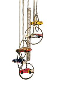 Nascar 5 Ring Windchime by MAAC Windchimes