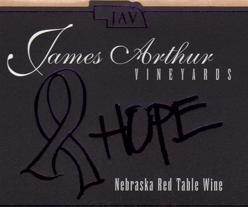 James Arthur Vineyard Hope Wine