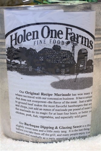 Holen One Farms Marinade, Barbeque Sauce & Seasoning Gift Bucket