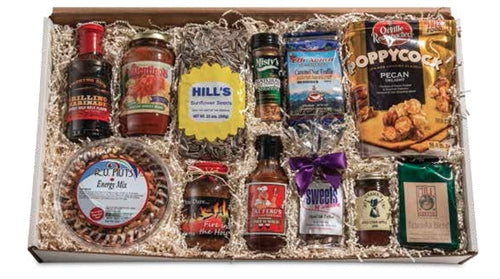 From Nebraska Gift Shop's A Taste of Lincoln Gift Basket