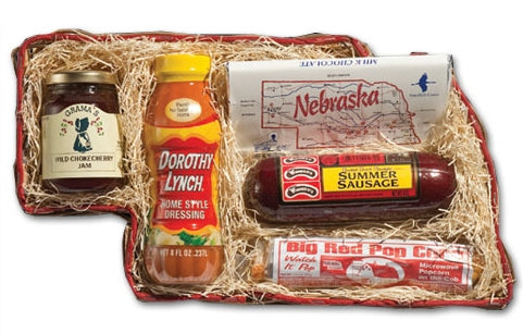 From Nebraska Gift Shop's Nebraska Favorite Gift Basket