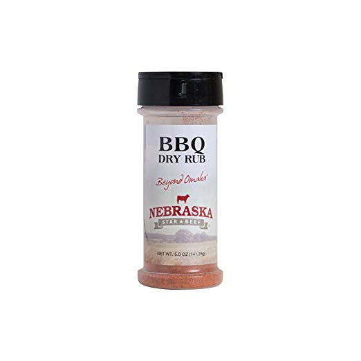 BBQ Dry Rub - 5 oz. | Zesty BBQ Dry Rub Seasoning | Sweet & Spicy BBQ Seasoning