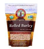 Rolled Barley | 1 lb Bag | Organic | Grain Place Foods | Non-GMO