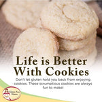 Gluten Free Sugar Cookie Mix 15oz. | Celiac Diet Safe | Smooth Taste | Gluten Free Mama