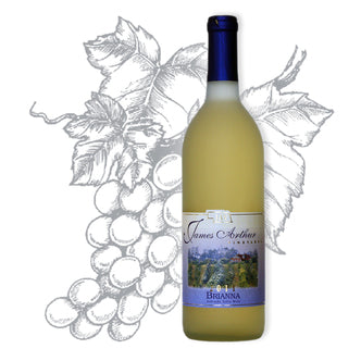 Brianna Wine | Semi-Sweet White | Tropical Fruit Underscores