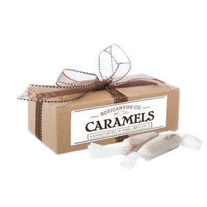 Grey Sea Salt Cream Gourmet Caramels | Deliciously Soft & Hand-Dipped
