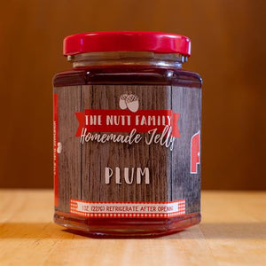 Plum Jelly 9oz. | Nebraska Home Grown Ingredients | Nutt Family Jams & Jellies