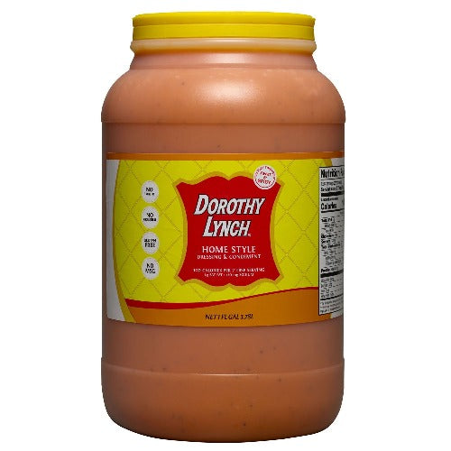 Dorothy Lynch Homestyle Salad Dressing Gallon | Gluten Free | Sweet & Spicy | Shipping Included
