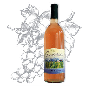 Edyn's Blush Semi-Sweet Award Winning Wine | Supreme Balance of Edelweiss & Concord Grapes