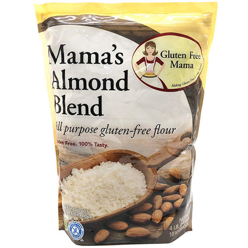 Gluten Free Almond Flour | 4 LB Bag | All-Purpose Flour | Celiac Safe, Non Gritty Taste