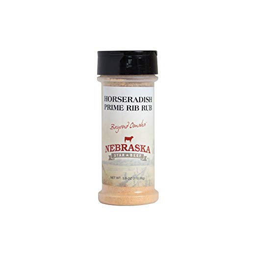 Horseradish Prime Rib Rub 3.9oz | Horseradish Rub For Steak | Gourmet Steak Rub | NE Star Beef