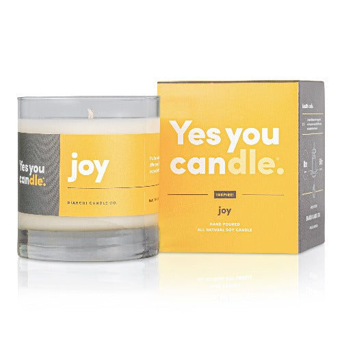 Yes You Candle | 8 oz. | JOY