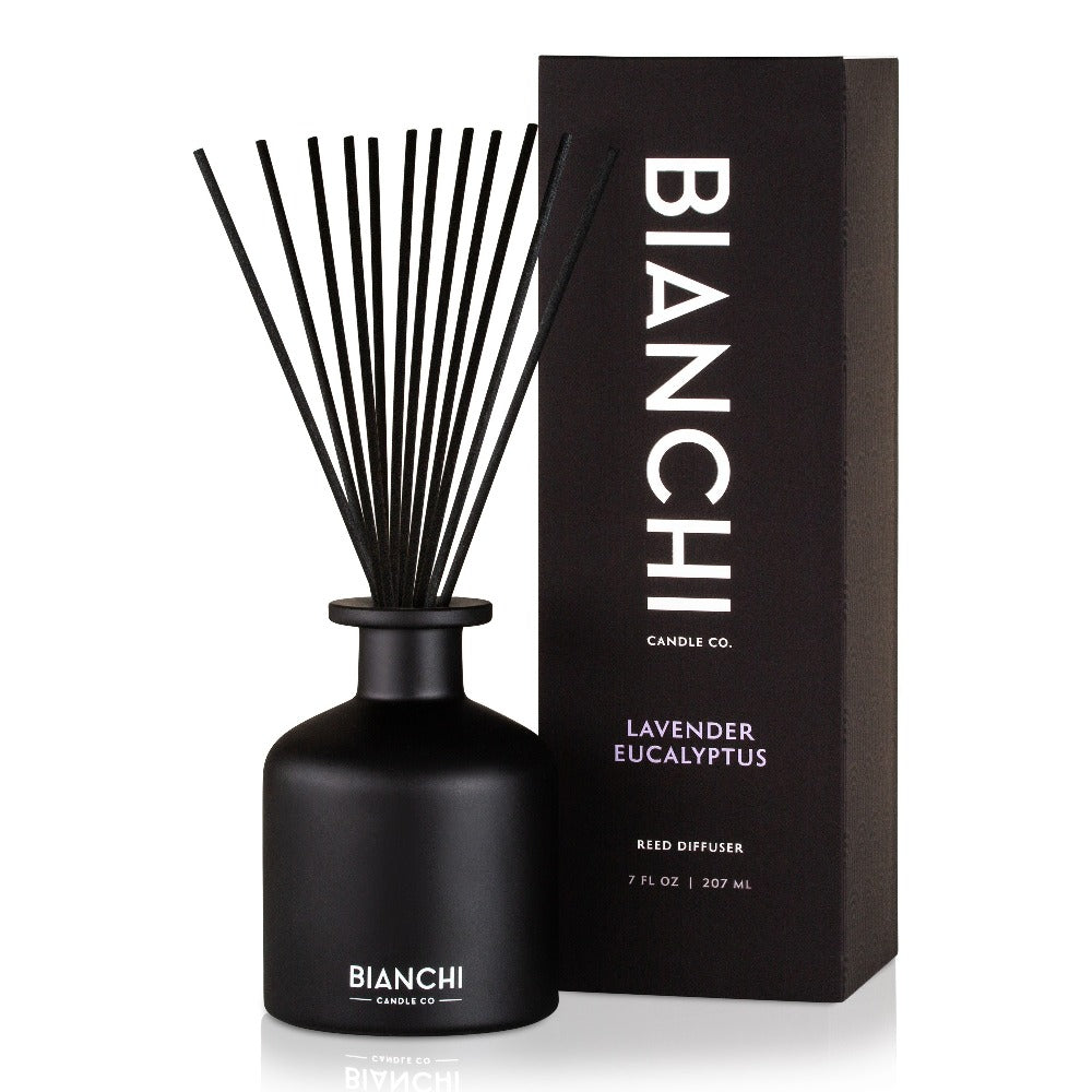 Lavender Eucalyptus | Bianchi 7 oz. Reed Diffuser | Shipping Included