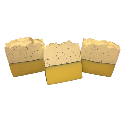 Lemon Poppyseed Soap | Lemon Meringue Pie | LaRee's Handcrafted Soaps