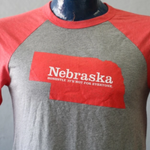 Nebraska. Honestly, It's Not For Everyone Baseball Tee | Cotton Blend & Nonconformity