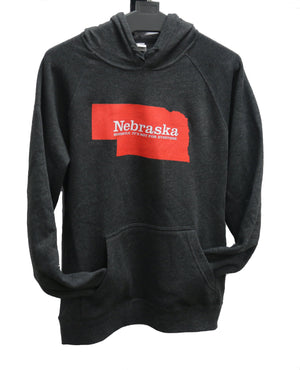 Nebraska. Honestly, It's Not For Everyone Hoodie | Unisex