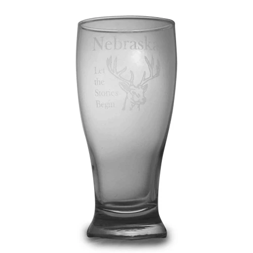 Etched Pilsner Glass | Best Gifts For Him | Personalized Pilsner Glass