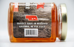 Peach Habanero Jelly 9oz. | Get Peachy With This Jam | Nebraska Made | Nutt Family Jams & Jellies